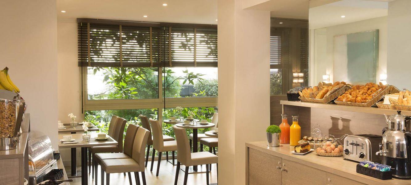 Hôtel Floride Etoile - Restaurant Petit déjeuner