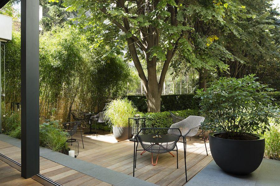Hôtel & Spa La Belle Juliette - Terrasse et jardin