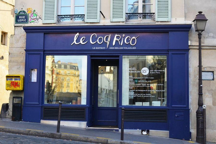 Le Coq Rico - Facade