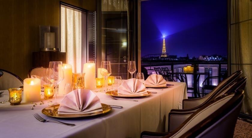 Hôtel du Collectionneur - Vue sur la tour Eiffel