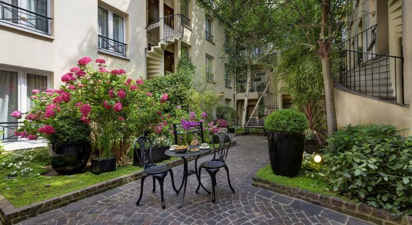Best Western Le Patio Saint Antoine - Terrasse