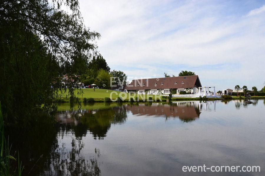 Domaine des Fontenelles - Vue de l'étang
