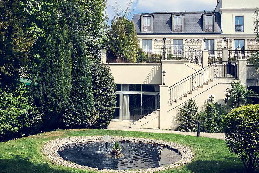 Hôtel Mercure Paris Ouest SaintGermain - Vue Jardin