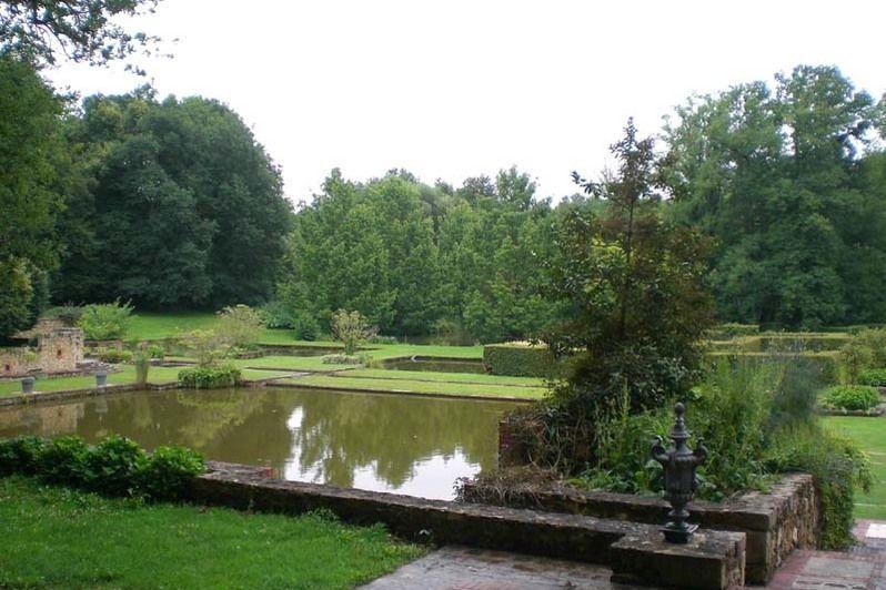 Château de Mauvières - Jardins à l'anglaise 2