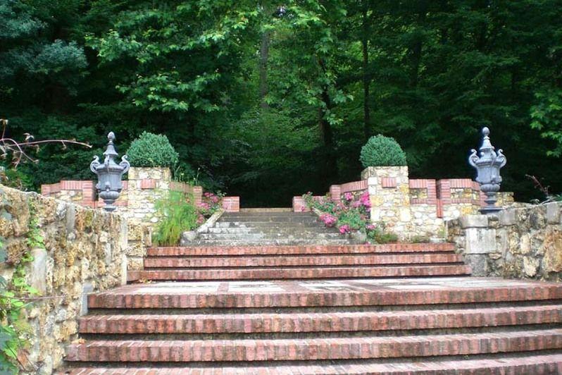 Château de Mauvières - Jardins à l'anglaise 3