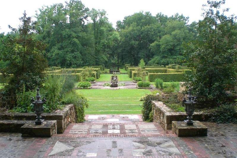 Château de Mauvières - Jardins à l'anglaise