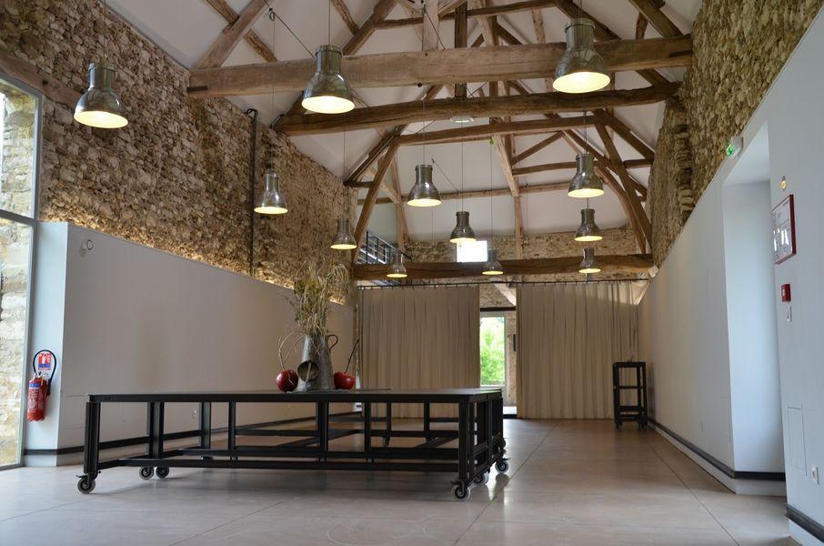 La Grange Mauvoisin - Salle de réception