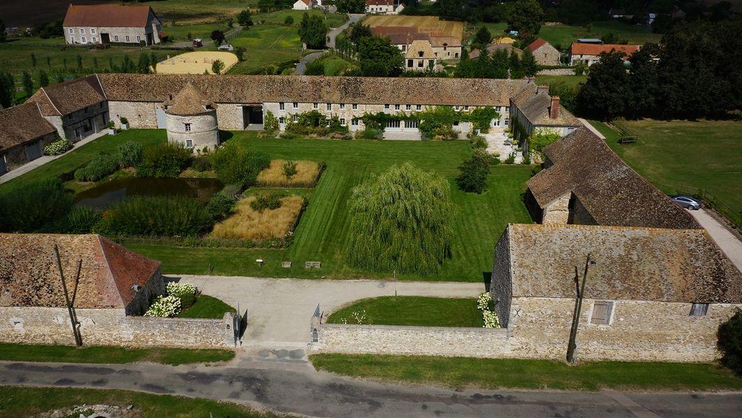 La Grange Mauvoisin - Vue aérienne