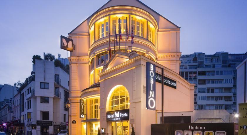 Hôtel Le M - Façade 3