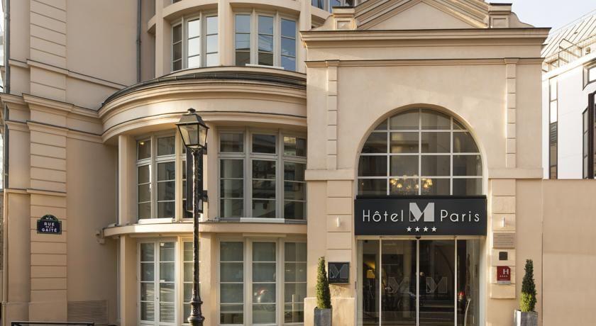 Hôtel Le M - Façade 2