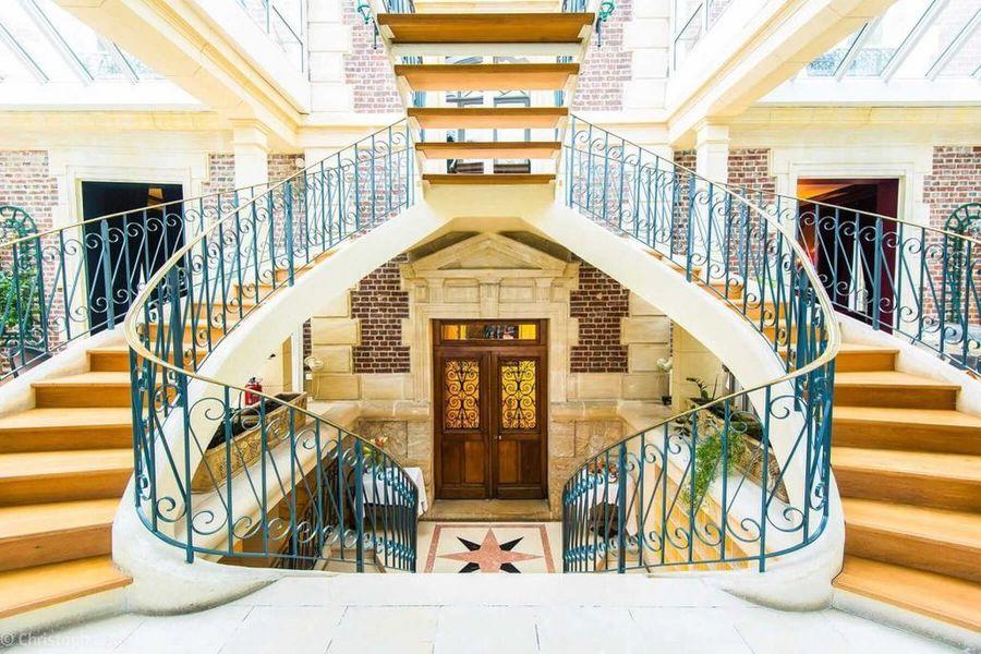 Les Jardins de l'Epicure - Escaliers