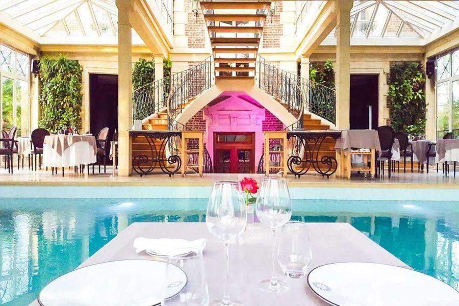 Les Jardins de l'Epicure - Piscine et Restaurant