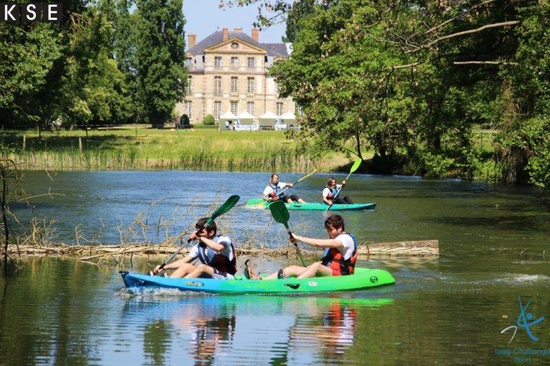 Château de Nandy - Activité canoë 1