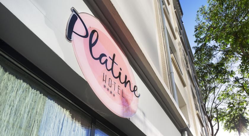 Hôtel Platine - Façade