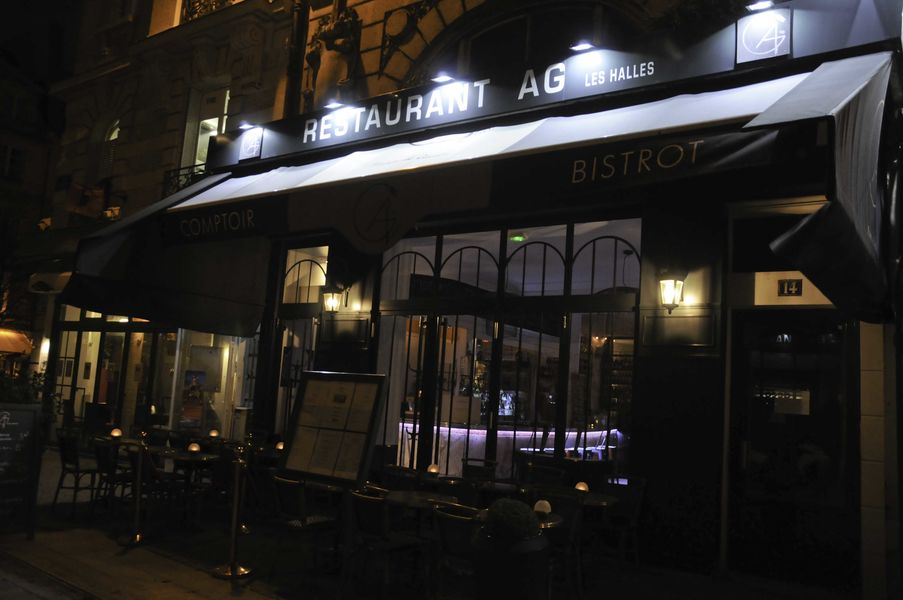 AG restaurant les halles - Façade