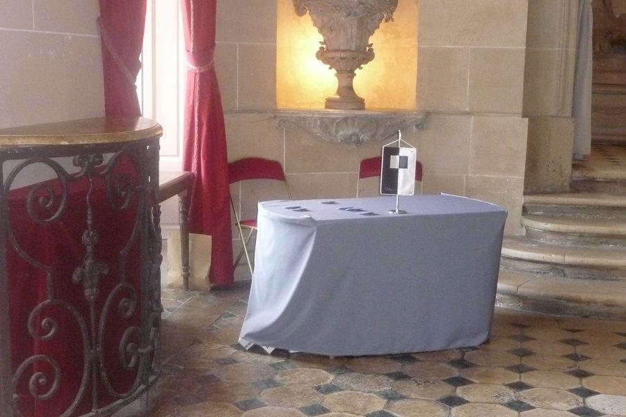 Château de Nandy - Intérieur