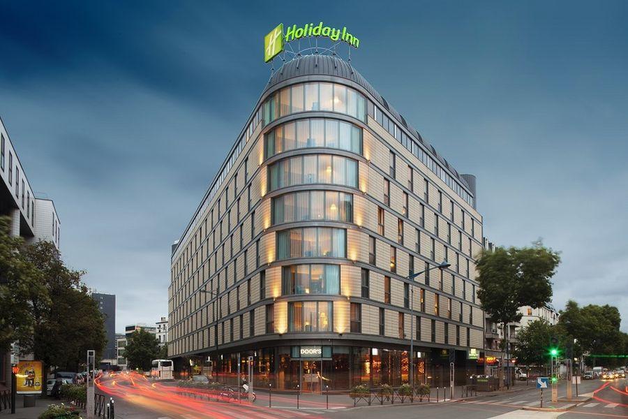 Holiday Inn Porte de Clichy - Facade Hotel