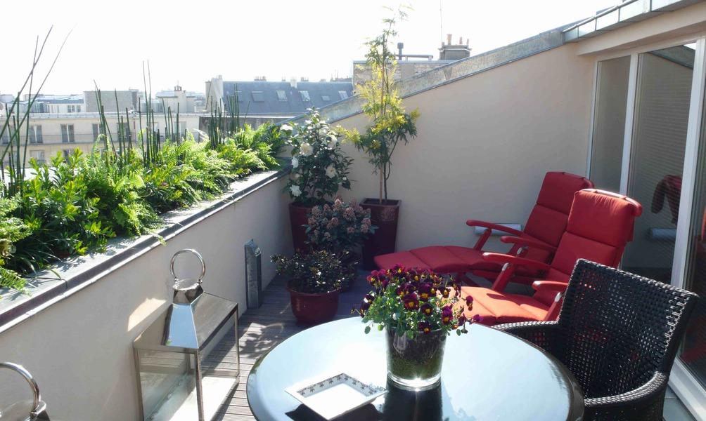 Hôtel Intercontinental Avenue Marceau ***** - Suite 502 terrasse