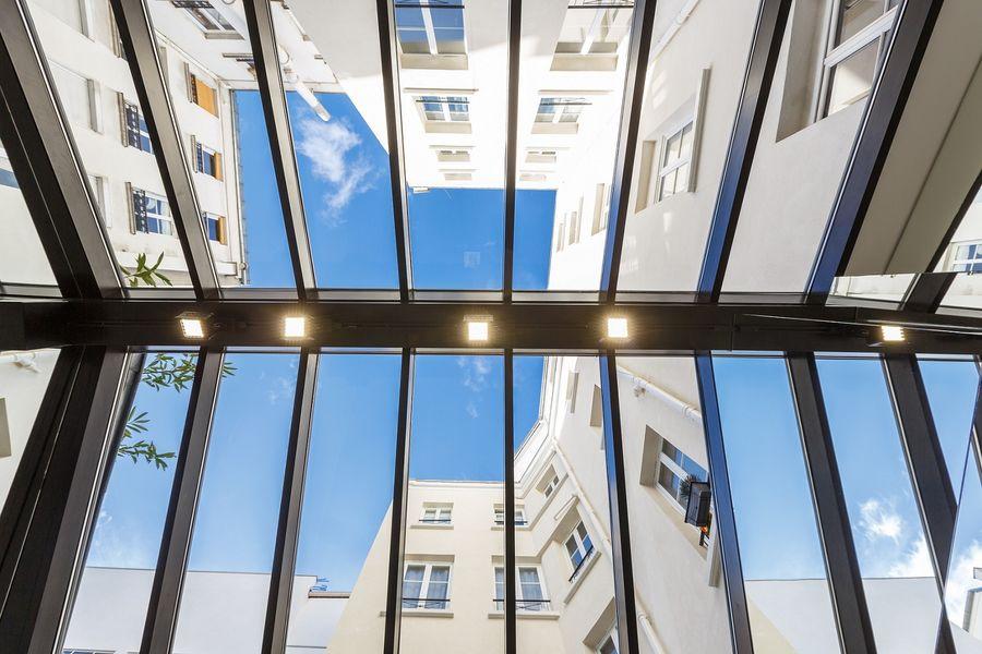 Léon - Plafond vitré