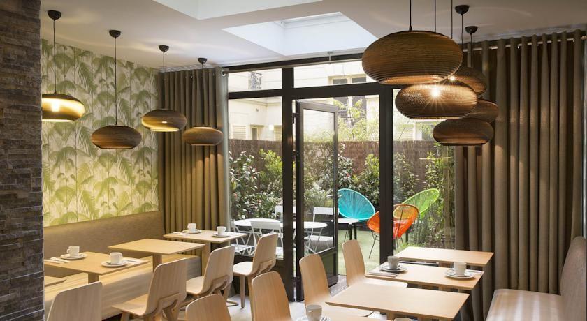 Hotel Eden - Salle de petit déjeuner