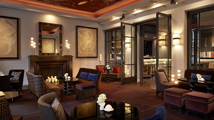 Hôtel Burgundy ***** - Bar