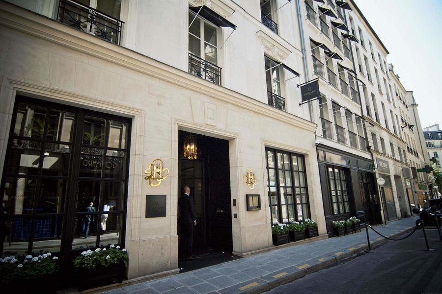 Hôtel Burgundy ***** - Entrée 2