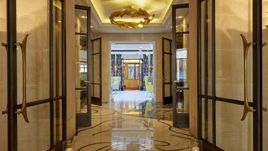 Hôtel Burgundy ***** - Entrée