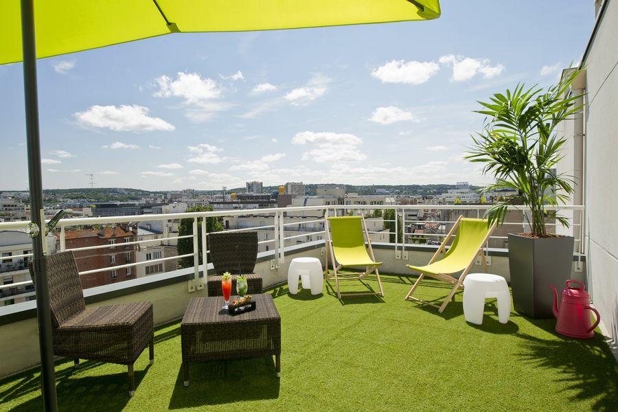 Radisson Boulogne - Terrasse Lounge