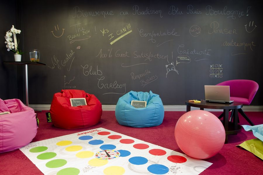 Radisson Boulogne - Brainstorming room