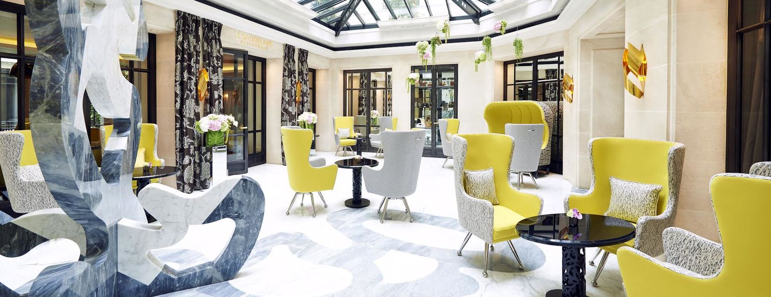 Hôtel Burgundy ***** - Verrière