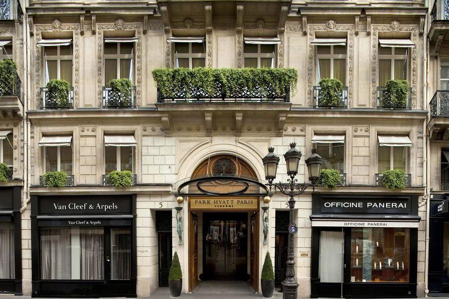 Hôtel Park Hyatt Paris Vendôme ***** - Façade