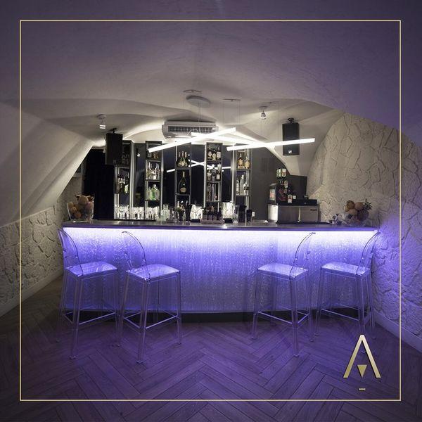 L'Arbane - Bar salle voutée