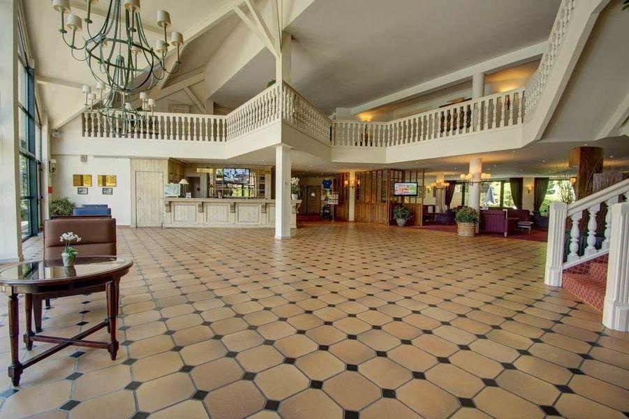 Najeti Hôtel du parc *** - Hall d'entrée