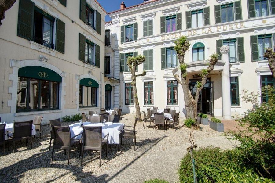 Najeti Hôtel de la Poste **** - Terrasse 888