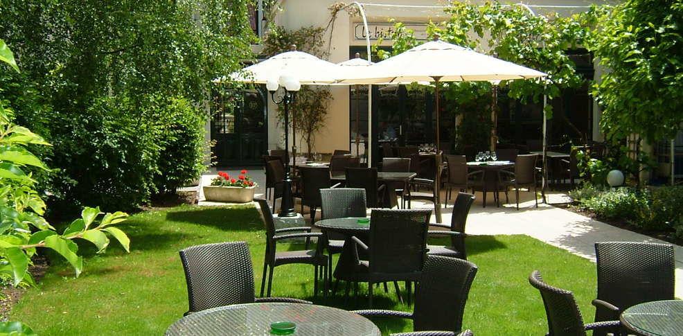 Najeti Hôtel de la Poste **** - Jardin