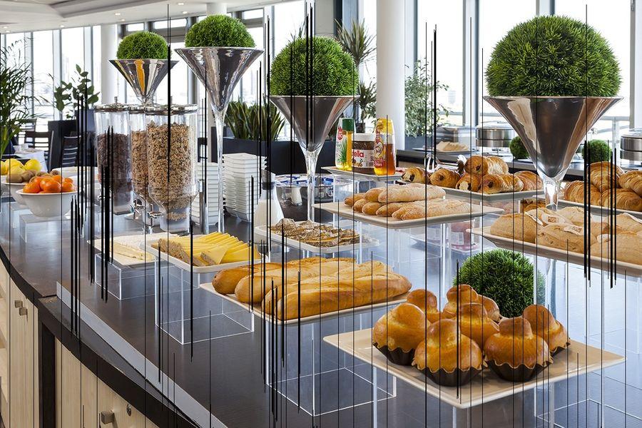 Mercure Paris la Villette - Buffet petit déjeuner