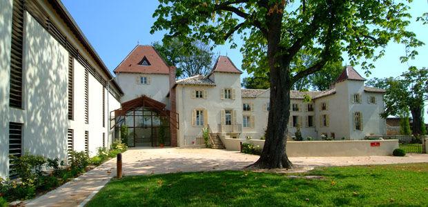 Château des Broyers - Vue d'extérieur