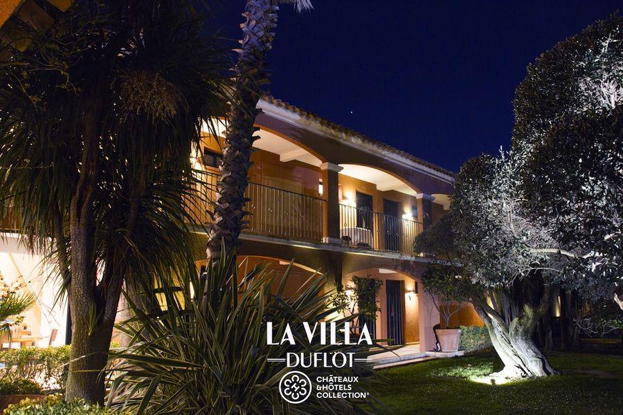 Villa Duflot - Patio de nuit