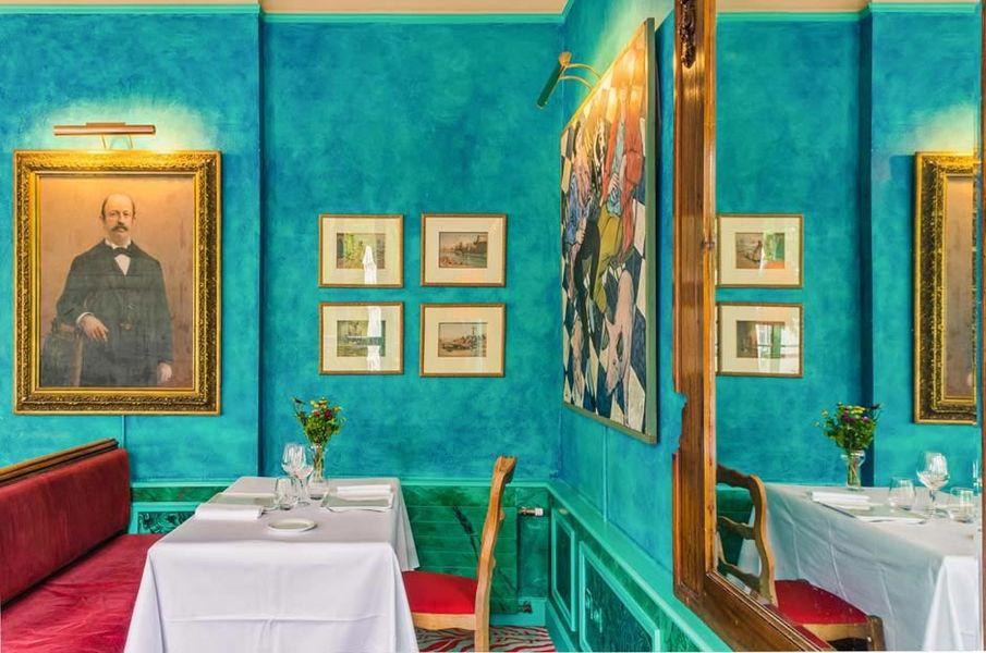Le Saint-Christophe - Salle de restaurant