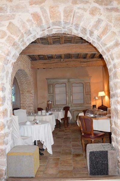 Relais de la Magdeleine - Salle de restaurant