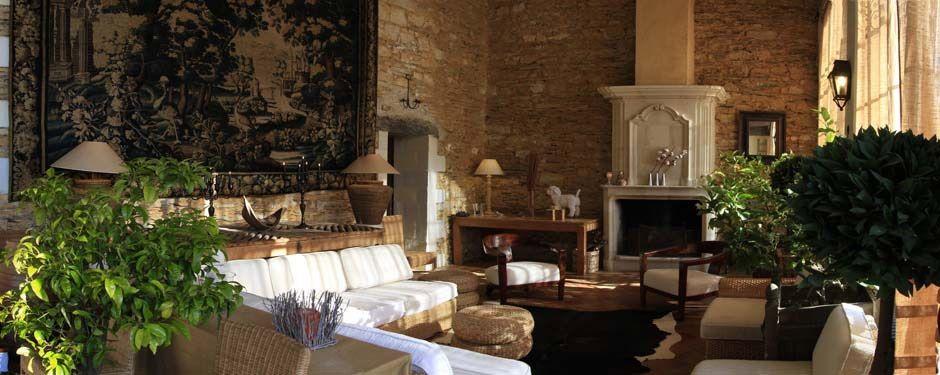 Château des Briottières - Salon