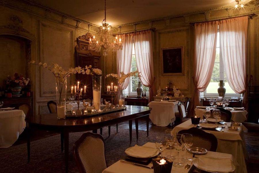 Château des Briottières - Salle de restaurant
