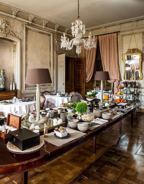 Château des Briottières Buffet petit déjeuner
