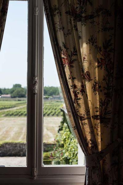 Château Meyre  - Vue sur les vignes
