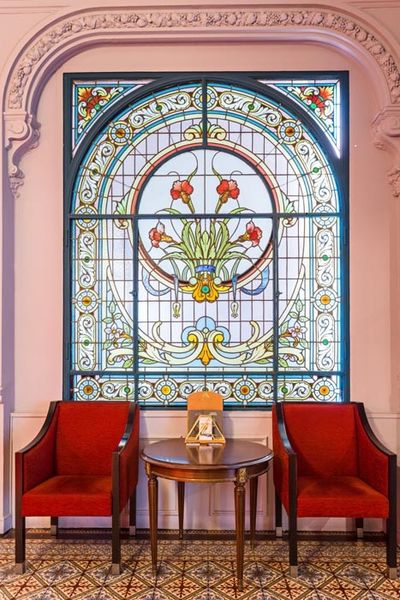 Grand Hôtel du Midi - Vitraux