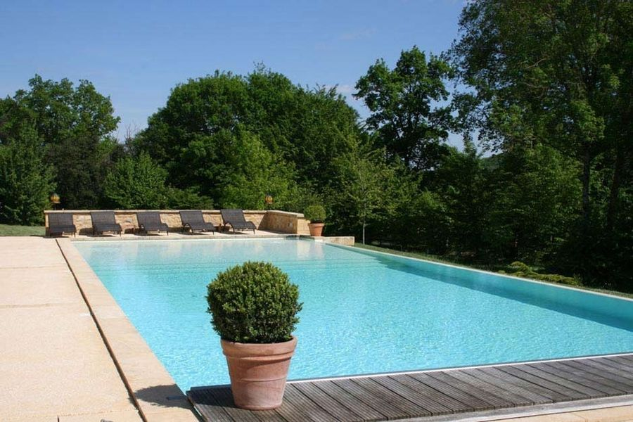 La Villa Romaine - Piscine