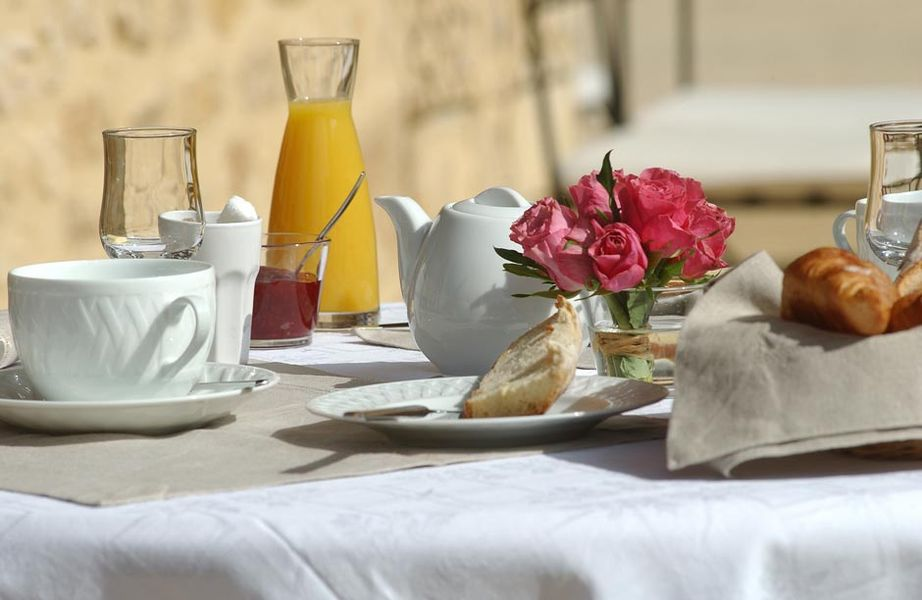 La Villa Romaine - Petit déjeuner