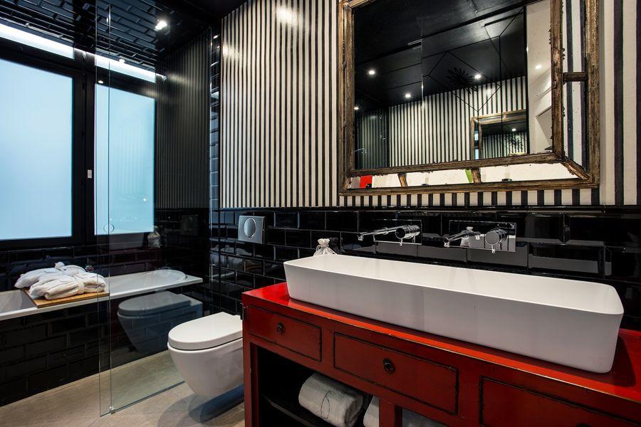 Hôtel Banke - Baignoire Chambre Deluxe