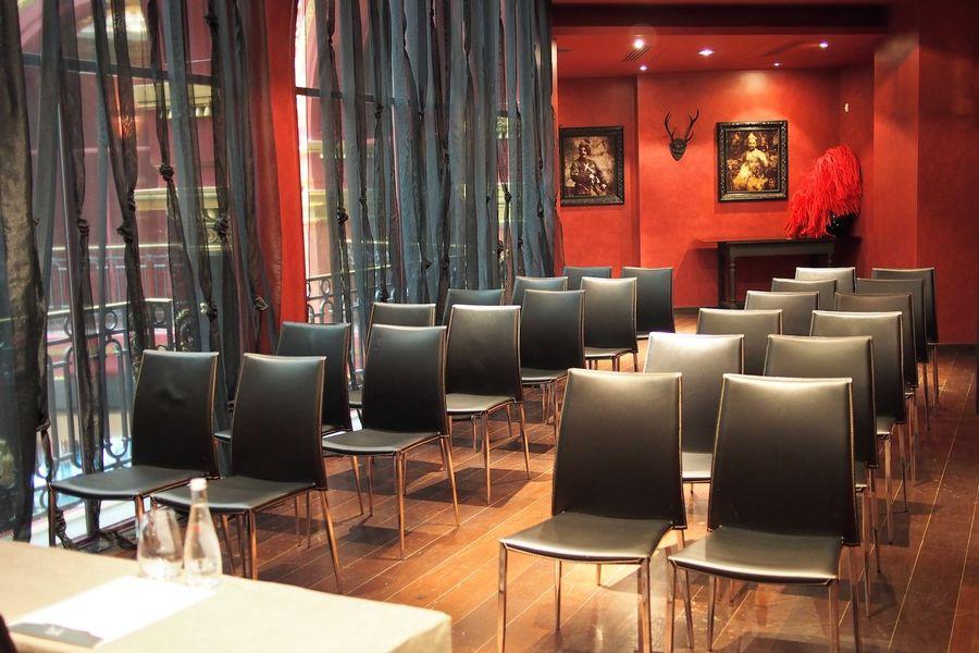 Hôtel Banke - Salon Eiffel en configuration théâtre