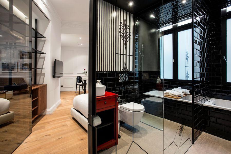 Hôtel Banke - Chambre Deluxe coin salle de bain